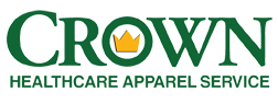 Crown Healthcare Apparel Service Logo