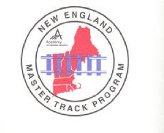 New England Master Track Program Logo